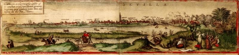 Sevilla - 1572 - Braun Hogenberg - Civitates Orbis Terrarum