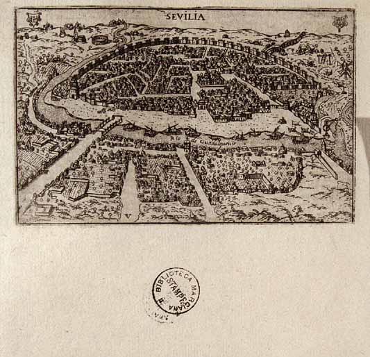 Sevilla - 1625 - Francesco Valegio - Raccolta delle più illustri et famose città di tutto il mondo