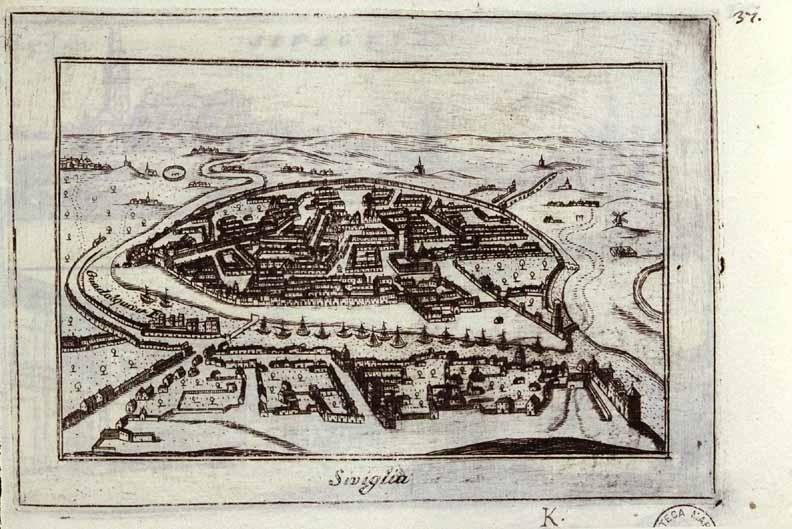 Sevilla - 1706 - Vincenzo Maria Coronelli