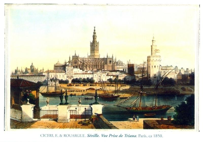 Sevilla - 1850 - Ciceri, E. & Rouargue